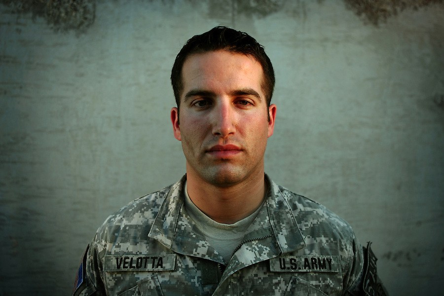 Capt. Brad Velotta, commanding officer Bravo Co. 4th Battalion 23rd Infantry Regiment 172nd Stryker Brigade.