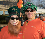 Sylvia and Tim during the 5th annual Leprechaun Run in Reno on Sunday, March 12, 2017.