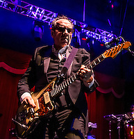 LAS VEGAS, NV - March 16 : Elvis Costello & The Roots perform grand opening weekend at The Brooklyn Bowl Las Vegas at The Linq in Las Vegas, NV on March 16, 2014. © Kabik/ Starlitepics