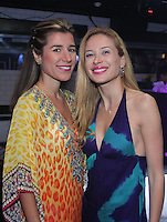 Fernanda Capovicio and Maria Taiman attend The Friends of Finn by the Shore party at Finale East on Aug. 2, 2014 (Photo by Taylor Donohue/Guest of a Guest)