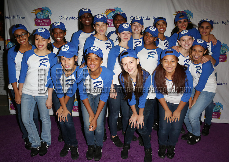 Rosie's Kids attend the 14th Annual 'Only Make Believe' Gala at the Bernard B. Jacobs Theatre on November 4, 2013  in New York City.