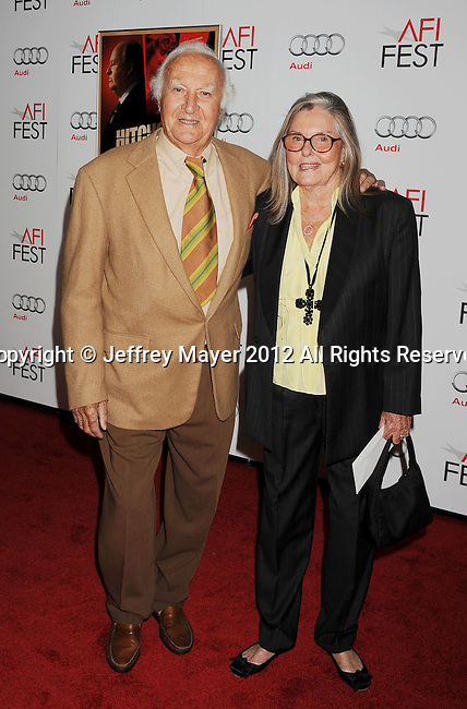 HOLLYWOOD, CA - NOVEMBER 01: Robert Loggia arrives at the opening night gala premiere of 'Hitchcock' during the 2012 AFI FEST at Grauman's Chinese Theatre on November 1, 2012 in Hollywood, California.