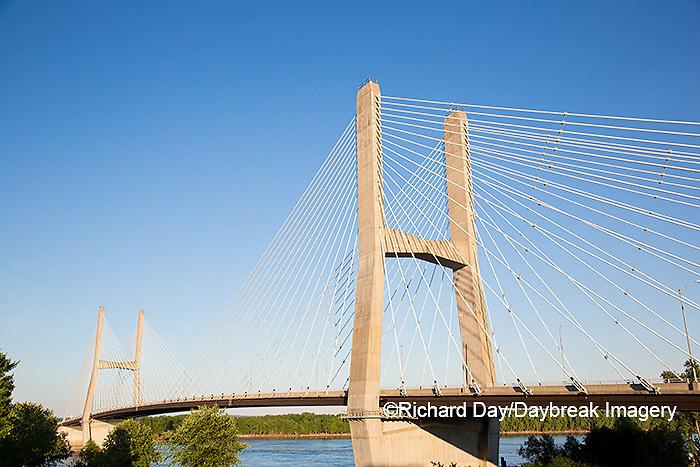 65095-02402 Bill Emerson Memorial Bridge over Mississippi River Cape Girardeau, MO