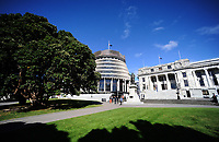 Semi-automatic weapons ban and firearms advertising regulation petitions at Parliament in Wellington, New Zealand on Thursday, 21 March 2019. Photo: Dave Lintott / lintottphoto.co.nz