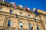 The Royal Mercure Hotel frontage, Hull. Yorkshire, England