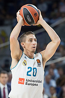 Real Madrid Jaycee Carroll during Turkish Airlines Euroleague match between Real Madrid and CSKA Moscu at Wizink Center in Madrid, Spain. October 19, 2017. (ALTERPHOTOS/Borja B.Hojas) /NortePhoto.com
