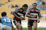 Taiasina Tuifua breaks past Josh Levi. Air NZ Cup week 4 game between the Counties Manukau Steelers and Northland played at Mt Smart Stadium on the 19th of August 2006. Northland won 21 - 17.