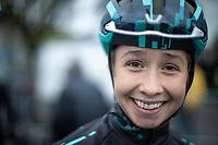 Cecilie Uttrup Ludwig (DEN/Bigla) pre race<br /> <br /> 3th Liège-Bastogne-Liège-Femmes 2019 (1.WWT)<br /> 1 Day Race: Bastogne – Liège 138,5km<br /> <br /> ©kramon