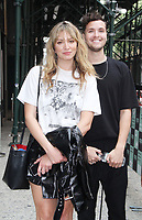 NEW YORK, NY - August 06: Laura Toggs, Aodhan King of music group Hillsong Young &amp; Free at Build Series in New York City on August 06, 2018 <br /> CAP/MPI/RW<br /> &copy;RW/MPI/Capital Pictures