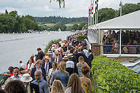Henley on Thames. United Kingdom. General Views of the course,. Saturday 30.06.2016. 2016 Henley Royal Regatta, Henley Reach.   [Mandatory Credit Peter Spurrier/ Intersport Images]