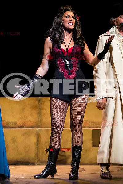 "Pastora Vega during theater play ""La Asamblea de las Mujeres"" at Teatro La Latina in Madrid. August 23 2016. (ALTERPHOTOS/Borja B.Hojas) /NORTEPHOTO.COM"