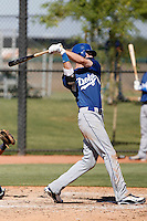 Kyle Russell - Los Angeles Dodgers 2009 Instructional League. .Photo by:  Bill Mitchell/Four Seam Images..