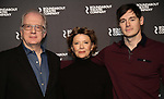 Tracy Letts, Jack O'Brien, Annette Bening and Benjamin Walker attends the 'All My Sons' cast photo call at the American Airlines Theatre  on March 8, 2019 in New York City.