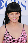 BEVERLY HILLS, CA - JULY 29: Pauley Perrette arrives at the CBS, Showtime and The CW 2012 TCA summer tour party at 9900 Wilshire Blvd on July 29, 2012 in Beverly Hills, California.