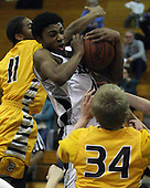 Rochester Adams at Troy, Boys Varsity Basketball, 2/3/12