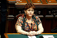Minister of Agricolture Teresa Bellanova<br /> Rome September 9th 2019. Lower Chamber. Programmatic speech of the new appointed Italian Premier at the Chamber of Deputies to explain the program of the yellow-red executive. After his speech the Chamber is called to the trust vote at the new Government. <br /> Foto  Samantha Zucchi Insidefoto