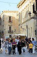 Caratteristica architettura barocca a Lecce.<br /> Typical yellow limestone buildings in Lecce.<br /> UPDATE IMAGES PRESS/Riccardo De Luca