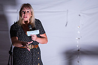 13th July 2019: Comedian Tiff Stevenson performs her show 'Mother' on day 1 of the 2019 Comedy Crate Festival in Northampton