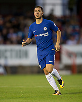 Eden Hazard of Chelsea makes his first appearance this season during the U23 Premier League 2 match between Chelsea and Everton at the EBB Stadium, Aldershot, England on 25 August 2017. Photo by Andy Rowland.