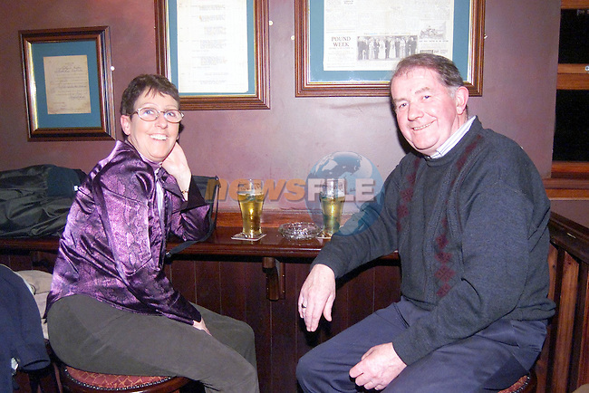 margaret and Pat O'Connor in Mother Hughes..Picture Fran Caffrey Newsfile.
