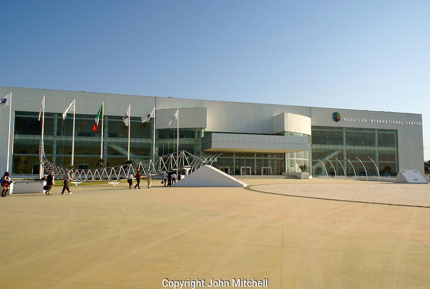 The Mazatlan International Center, a new convention center in Mazatlan, Sinaloa, Mexico