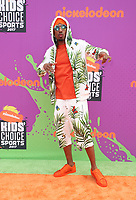 LOS ANGELES, CA July 13- Nick Cannon, At Nickelodeon Kids' Choice Sports Awards 2017 at The Pauley Pavilion, California on July 13, 2017. Credit: Faye Sadou/MediaPunch