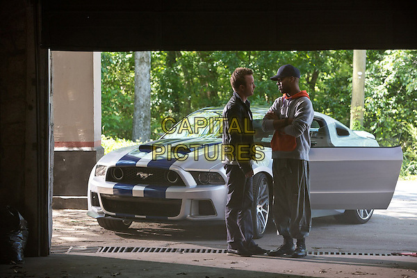 Aaron Paul, Scott Mescudi<br /> in Need for Speed (2014) <br /> *Filmstill - Editorial Use Only*<br /> CAP/FB<br /> Image supplied by Capital Pictures