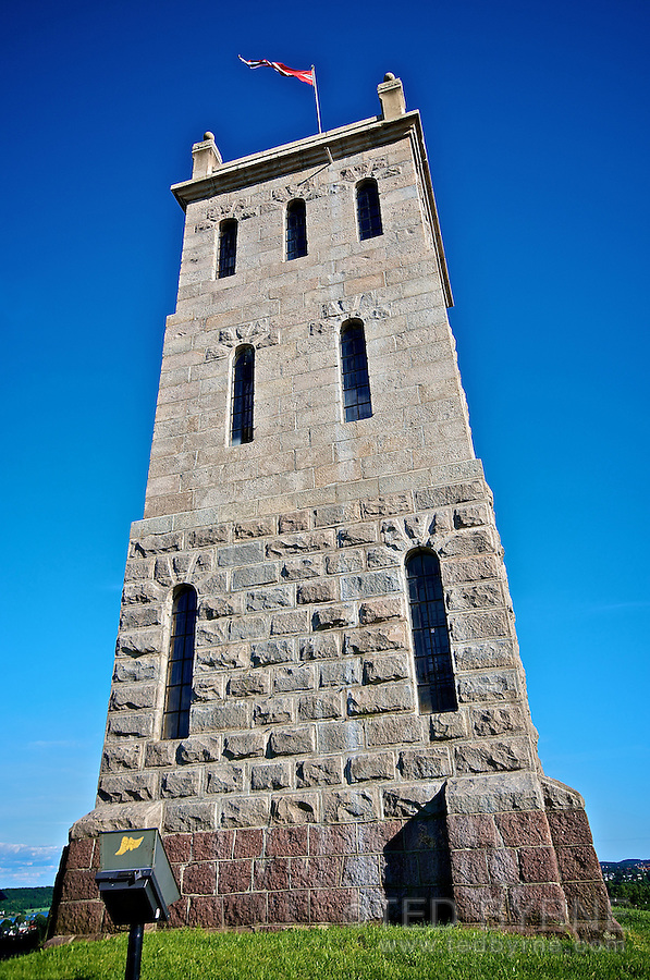 Castle Tower at the citadel in Tønsberg (Tunsbergshus)