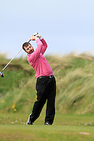 during round 1 of The West of Ireland in Sligo Golf Club on Friday 18th April 2014.<br /> Picture:  Thos Caffrey / www.golffile.ie