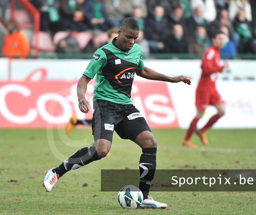 Cercle Brugge : Francis Dickoh.foto VDB / BART VANDENBROUCKE