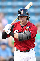 Nashville Sounds outfielder Brett Carroll #23 at bat during a game against the Omaha Storm Chasers at Greer Stadium on April 25, 2011 in Nashville, Tennessee.  Omaha defeated Nashville 2-1.  Photo By Mike Janes/Four Seam Images
