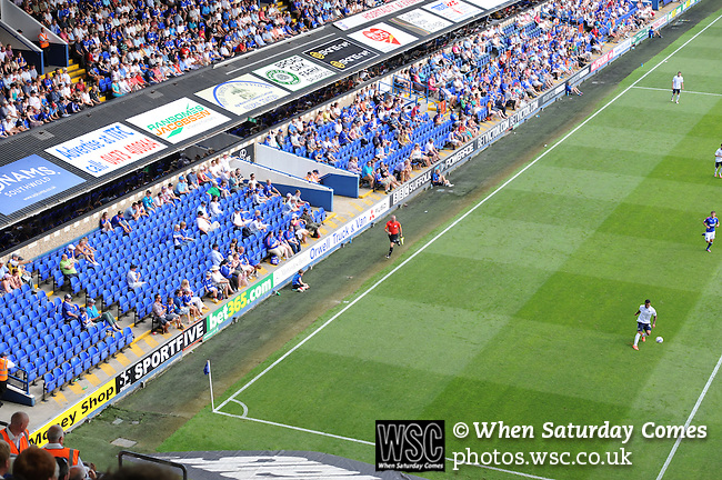 Ipswich Town 1 Blackburn Rovers 1, 18/08/2012. Portman Road, Championship. Blackburn visit Suffolk for their first game back in the Championship. Photo by Simon Gill.