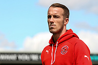 Fleetwood Town player Alex Cairns  inspects the pitch on arrival at the Sixfields Stadium<br /> <br /> Photographer Andrew Kearns/CameraSport<br /> <br /> The EFL Sky Bet League One - Northampton Town v Fleetwood Town - Saturday August 12th 2017 - Sixfields Stadium - Northampton<br /> <br /> World Copyright &copy; 2017 CameraSport. All rights reserved. 43 Linden Ave. Countesthorpe. Leicester. England. LE8 5PG - Tel: +44 (0) 116 277 4147 - admin@camerasport.com - www.camerasport.com