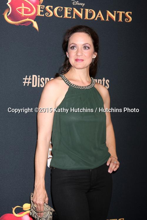 "LOS ANGELES - JUL 24:  Kali Rocha at the ""Descendants"" Premiere Screening at the Walt Disney Studios on July 24, 2015 in Burbank, CA"