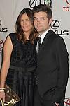 BURBANK, CA - SEPTEMBER 29: Adam Scott and Naomi Scott arrive at the 2012 Environmental Media Awards at Warner Bros. Studios on September 29, 2012 in Burbank, California.