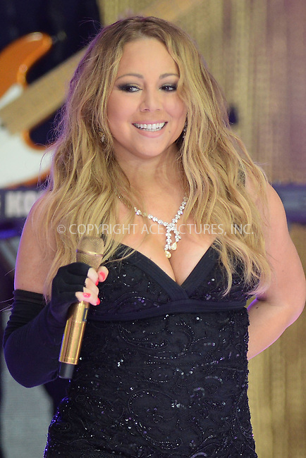WWW.ACEPIXS.COM<br /> May 16, 2014 New York City<br /> <br /> Mariah Carey performing on NBC Today on Rockefeller Plaza on May 16, 2014 in New York City.<br /> <br /> Please byline: Kristin Callahan/ACE Pictures<br /> <br /> ACEPIXS.COM<br /> <br /> Tel: (212) 243 8787 or (646) 769 0430<br /> e-mail: info@acepixs.com<br /> web: http://www.acepixs.com