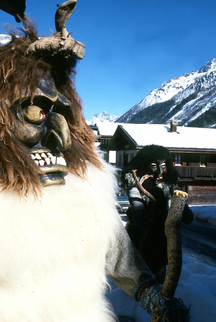 Roitschaggatta Celebration, Lotschental Valley, Willer, Switzerland