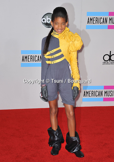 Willow Smith   - 2010 American Music Awards - AMA - At the Nokia Theatre in Los Angeles.