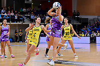 Stars&rsquo; Anna Thompson in action during the ANZ Premiership - Pulse v Northern Stars at Te Rauparaha Arena, Porirua, New Zealand on Monday 25 June 2018.<br />
