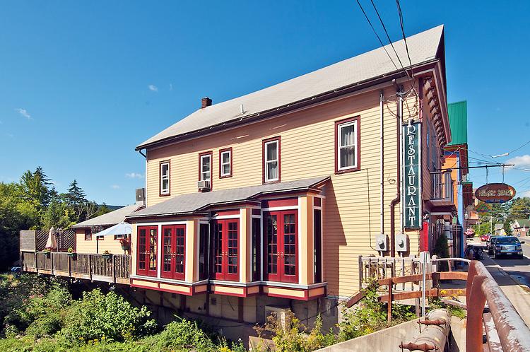 The Village Bistro, a restaurant in the painted village of Tannersville, New York