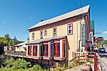 The Village Bistro, a restaurant in the painted village of Tannersville, New York