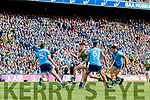 Sean O'Shea, Kerry in action against Brian Fenton, Dublin during the GAA Football All-Ireland Senior Championship Final match between Kerry and Dublin at Croke Park in Dublin on Sunday.