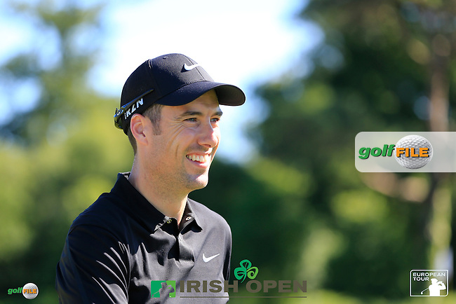 Ross Fisher (ENG) during Wednesday's Pro-Am of the 2014 Irish Open held at Fota Island Resort, Cork, Ireland. 18th June 2014.<br /> Picture: Eoin Clarke www.golffile.ie