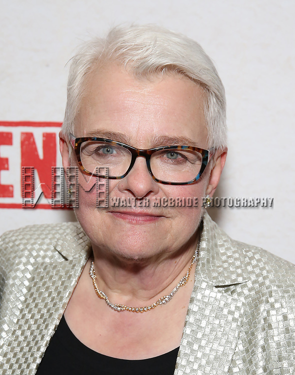 Paula Vogel attends the Broadway Opening Night After Party for  'Indecent' at Bryant Park Grill on April 18, 2017 in New York City.