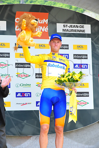 05.06.2011 5.4km individual time trial prologue of the 63th edition of the Criterium of Dauphine in France. Picture shows Lars Boom NED Team Rabobank who picked up the overall lead after day one.