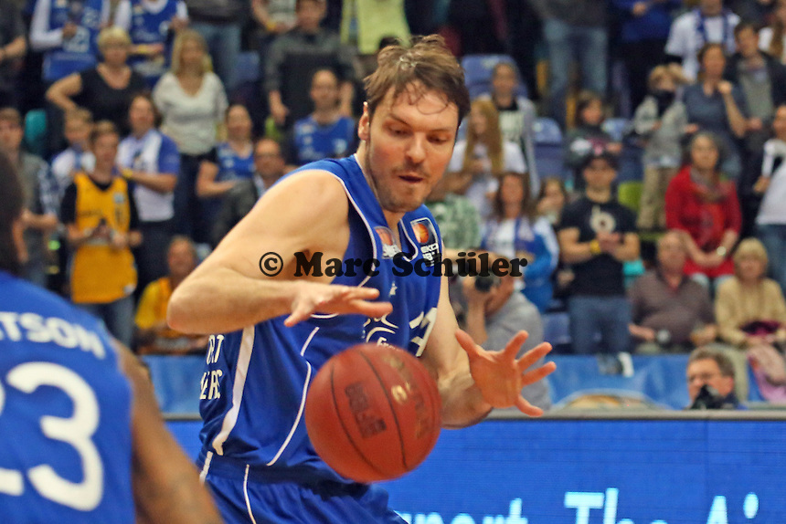 Marius Nolte (Skyliners) - Fraport Skyliners vs. Eisbären Bremerhaven, Fraport Arena Frankfurt