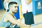 Player Jaime Fernandez during the second season of training of Spanish National Team of Basketball 2019 . July 27, 2019. (ALTERPHOTOS/Francis González)