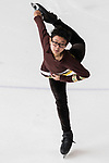 Muhammad Dwi Rizqy Apolianto of Indonesia competes in Junior Men group during the Asian Open Figure Skating Trophy 2017 at Mega Ice on 02 August, 2017 in Hong Kong, China. Photo by Yu Chun Christopher Wong / Power Sport Images