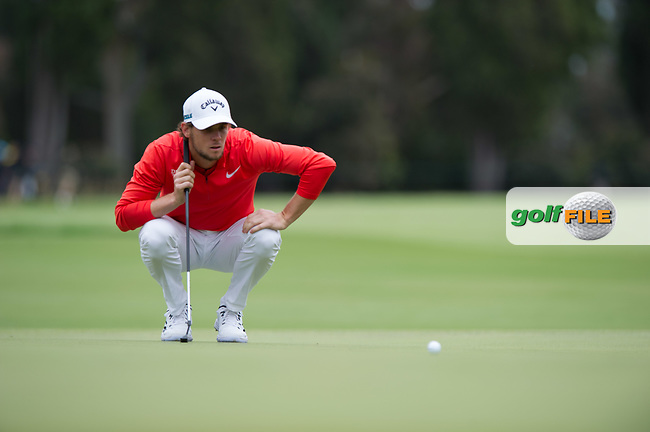 Thomas Pieters (BEL) during the final round of the World Cup of golf,  The Metropolitan Golf Club, The Metropolitan Golf Club, Victoria, Australia. 25/11/2018<br /> Picture: Golffile | Anthony Powter<br /> <br /> <br /> All photo usage must carry mandatory copyright credit (© Golffile | Anthony Powter)