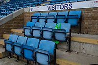 General view of the Visitor's dug out ahead of the Sky Bet League 1 match between Gillingham and Fleetwood Town at the MEMS Priestfield Stadium, Gillingham, England on 27 January 2018. Photo by David Horn.